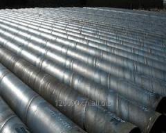 Weld steel pipes