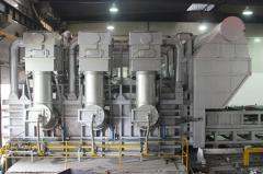 Industrial Melting Furnace of Aluminum and Alloy with Regenerative Combustion Saving Energy System