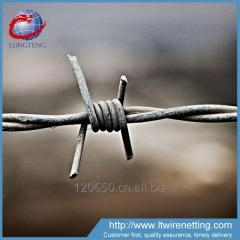 Low price hot dipped galvanized barbed wire