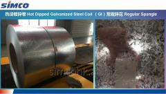 SIMCO Hot-depped galvanized steel coil HDGI