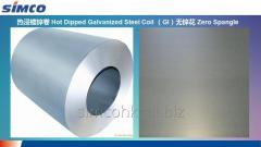 Hot-depped galvanized steel sheet HDGI