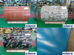 SIMCO Pre-painted hot-dipped galvalume steel