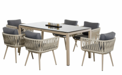 HaoMei Furniture - TABLE AND CHAIR SET