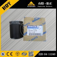 PC56-7 fuel filter 22H-04-11240 for Komatsu excavator
