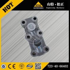 High quality in our stock for PC200-7 Valve ass'y 723-40-66402 Komatsu excavator spare parts