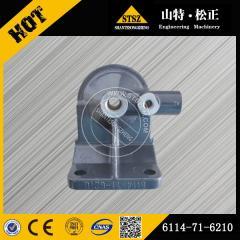 Komatsu PC300-7 Fuel filter head 6114-71-6210 genuine excavator spare parts