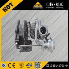 In our stock PC56-7 Turbocharger KT1G491-1701-0 Komatsu excavator spare parts