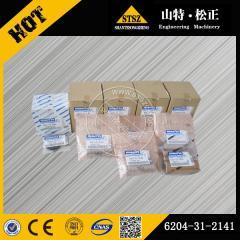 In stock PC60-7 Piston 6204-31-2141 Komatsu excavator spare parts