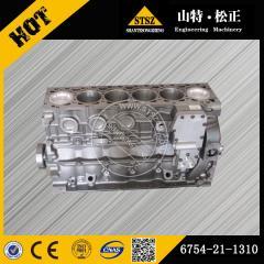 PC200-8 cylinder block 6754-21-1310 Komatsu excavator spare parts