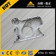 Best price for PC200-8 front case cover 6754-21-6211 Komatsu spare parts