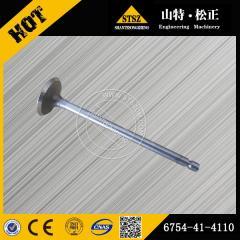 Best price for PC200-8 intake valve 6754-41-4110 Komatsu excavator spare parts