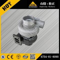 PC200-8 Turbocharger  6754-81-8090 Komatsu excavator spare parts