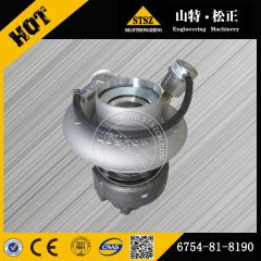 Best price for PC220-8 Turbocharger 6754-81-8190 Komatsu excavator spare parts