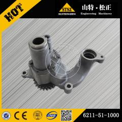 In our stock for SA6D140E-2 Oil pump 6211-51-1000 Komatsu excavator spare parts