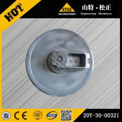 In our stock for PC200-7 front idler 20Y-30-00321 Komatsu excavator spare parts