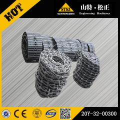 In stock PC200-8 track chain 20Y-32-00300 Komatsu excavator spare parts