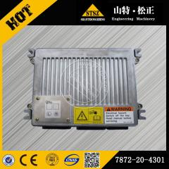 In our stock for PC400-7  engine fuel controller 7872-20-4301 Komatsu spare parts