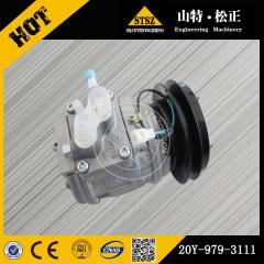 PC200-7 air compressor 20Y-979-3111 Komatsu excavator spare parts