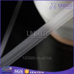 Factory direct sale embossed TPU tape elastic band for bra strap