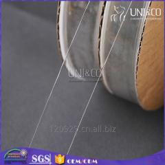Wholesale wide clear elastic TPU tape for bra back strap