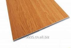 Wooden aluminium composite panel Material