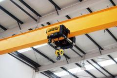 European single beam bridge crane