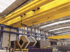 European double beam crane