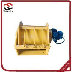 Drag hydraulic winch