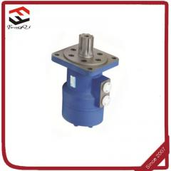 Hydraulic motor with gearbox for sweeper...