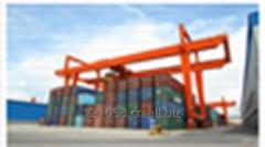 Rail Type Container Gantry Crane