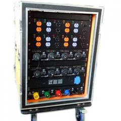 Power distribution box for event power supply | koinstage