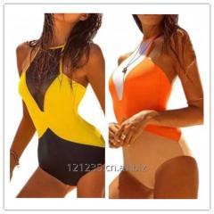 Sexy Mesh One Piece Backless Swimwear