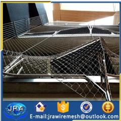 Stainless steel cable mesh for buildings