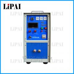 Supersonic frequency induction heating machine