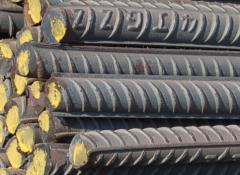 Hot rolled steel rebar from China