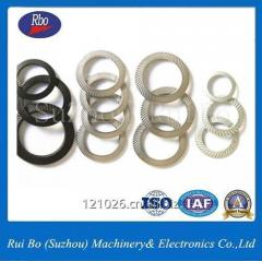 Double Side Knurl Lock Washers with ISO, DIN9250