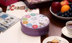 New premium customized food container tin box, OEM