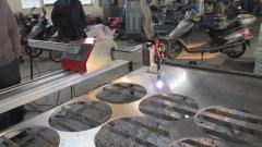 Portable CNC gas plasma cutting machine