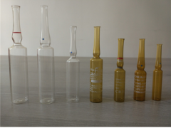 Glass ampoule YBB and GMP and ISO standard USP