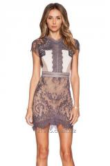 Women Summer Sexy Lace Mini Dress