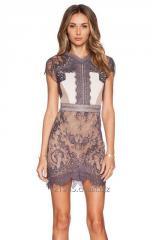 Women Summer Sexy Lace Mini Dress