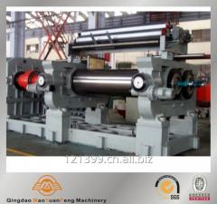 Rubber kneader, rubber mixing mill for tire