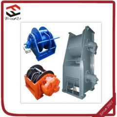 径向和轴向负载绞车带液压制动器
