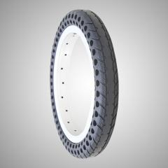12 Inch Airless Bike Tire from Nedong