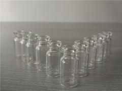 Tubular glass vial for injection medicine packing, 2ml