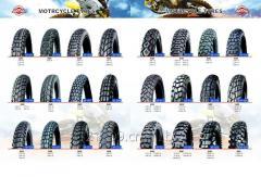多种型号花纹摩托车轮胎-内胎/无内胎