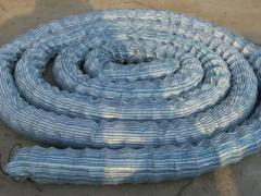 Soft permeable pipe
