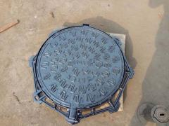 Factory Supply Ductile Iron Manhole Cover