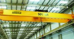 Electric double girder crane