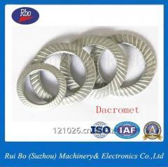 Double Side Knurl Lock Washers/Steel Washer DIN9250
